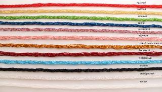 Ожерелье бисер 6 рядов 50 см различные цвета