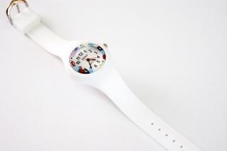 Часы кварцевые с мурринами силиконовый ремешок 7 цветов