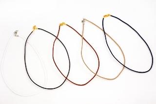 Ожерелье шнурок вощёный различные цвета 2 мм L 50cm