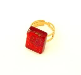 арт.Декор Кольцо 1,5х2см муранское стекло скидка 50%