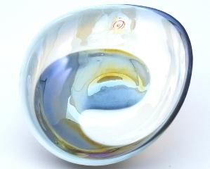 Yalos 9193 Блюдо миньон 18х14х5см дизайн Sinfonia муранское стекло