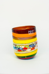 Стакан Multicolor 02 h 10 см, фабрика Murano Design