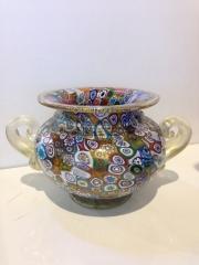 Ваза Амфора Multicolor h-13 см. Фабрика Gambaro & Poggi муранское стекло