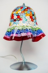 Лампа настольная Multicolor h-38 см. Фабрика Murano Design