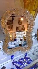 A - 05 Зеркало h 29 см. Муранское стело