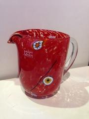 Кувшин Multicolor h- 16 см, фабрика Murano Design, ручная работа