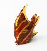 467/Q Статуэтка Рыба-луна (выс. 16см/дл. 12см) муранское стекло