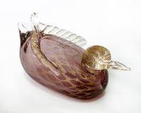 630/G Статуэтка Утка (длина 17,5см) муранское стекло