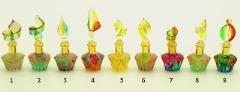 B01/M (2) Флакончик-миньон Аромат Востока  h6-8см серия Винтаж муранское стекло