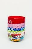 стакан Multicolor 01 h 10 см, фабрика Murano Design