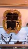 АPP Зеркало h - 27 см, фабрика Murano Design, муранское стекло ручная работа