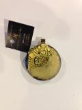 31RS кулон Грани (в золоте с матовой гравировкой)
