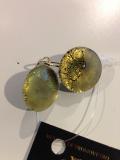 31RS серьги Грани (в золоте с матовой обработкой)