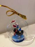 Шар новогодний d - 8 см, муранское стекло